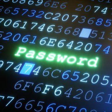 Passwords…… again!